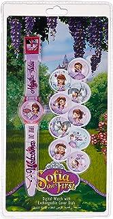 Disney Sofia Girls Interchangeable Dial Wristwatch - TRHA5696