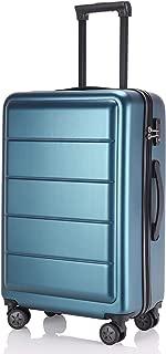 レーズ(Reezu) スーツケース 超軽量 TSAロック搭載 キャリーバッグ S M サイズ 小型 ファスナー キャリーケース 耐衝撃 ビジネス トランク 旅行出張 人気 大型 保管カバー付 1年保証