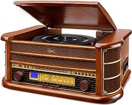 Dual NR 4 Nostalgie - Cadena musical con tocadiscos (radio