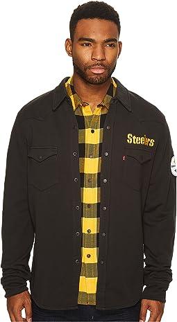Steelers NFL Western Sweatshirt