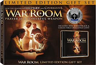 War Room Limited Edition Gift Set Exclusive includes DVD, Soundtrack and Prayer Challenge Coin
