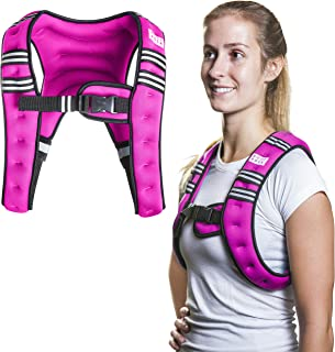 SWEATFLIX Weighted Body Vest for Men & Women: BodyRock Weight Vests for Training, Running, Crossfit or Walking - Fitness Gear &  Workout Equipment - Single Vest