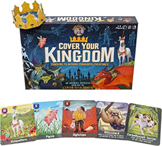 Cover Your Kingdom | Cover Your Assets Brand New & Very Obnoxious Brother | A Magically Malicious Party Game for 2-8 Playe...