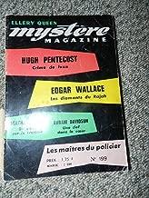 Mystère-magazine n° 199 : crime de luxe les diamants du rajah du sang sur le trottoir une clef dans le coeur ...