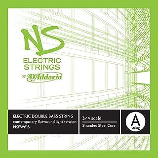 D'Addario NS Electric Contemporary Bass Single A String, 3/4 Scale, Medium Tension