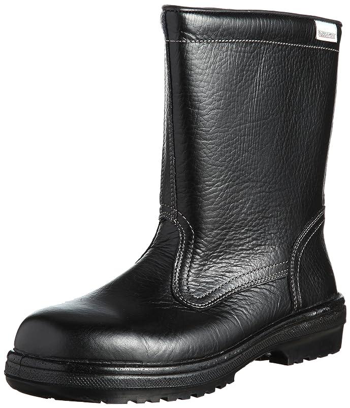 亡命廃棄扱いやすい静電安全靴 JIS規格 ブーツタイプ 半長靴 ラバーテック RT940 静電 メンズ