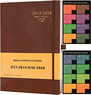 Planner 2019-2020 - Academic Weekly & Monthly Planner, 8.5