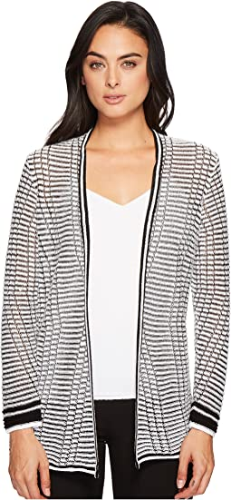 NIC+ZOE Striped Space Cardy
