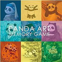 Pandasy Panda Art Memory Game, Memospiel, Einzigartige Illustrationskunst: Panda trifft auf klassische Meisterwerke (die berühmtesten Meisterwerke jetzt mit Panda Figuren)
