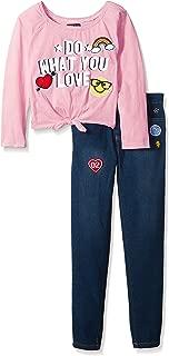 限量 Too 女童时尚上衣和裤子套装(更多款式可选)