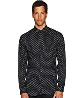 The Kooples - Printed Shirt with A Classic Collar