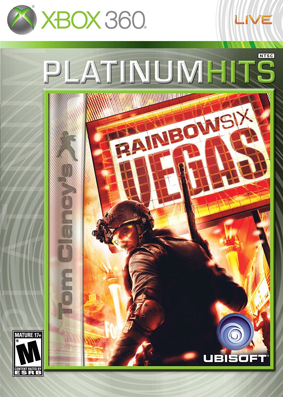 Tom Clancy's Rainbow service Six 360 Vegas Factory outlet - Xbox