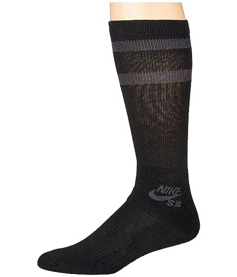meet 06ef4 72f0e Nike Crew Skateboarding Socks 3-Pair Pack at Zappos.com