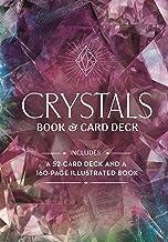 Crystals Book & Card Deck: Includes a 52-card Deck