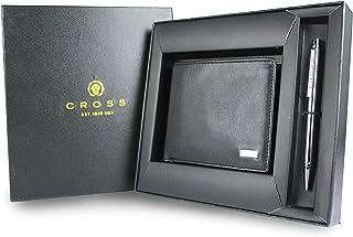 Cross Leather Black Softsided Luggage Set (ACC691_1-1)