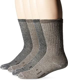 Kirkland Signature Outdoor Trail Sock Merino Wool Blend (Pack of 4)