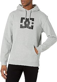 DC Men's Star Ph Pullover Fleece Sweatshirt Hooded