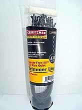 Best craftsman 130 replacement line trimmer xtra quiet Reviews