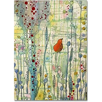 """Alpha by Sylvie Demers Wall Hanging, 24"""" x 32"""" Canvas Wall Art"""