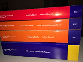 KAPLAN FLORIDA BAR REVIEW PREP + MBE WORKBOOK OUTLINES FLORIDA SUBJECTS BAR POINTS - 2017 BRAND NEW