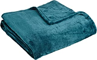 Northpoint Cashmere Plush Velvet Throw, Teal, 50