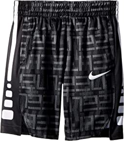 Nike Kids Elite All Over Print Stripe Short (Little Kids)