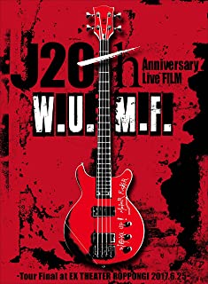J 20th Anniversary Live FILM [W.U.M.F.] -Tour Final at EX THEATER ROPPONGI 2017.6.25-(初回生産限定) [DVD]