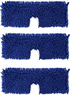 3 Pack Mop Refills Compatible with O-Ceda Dual-Action Microfiber Flip Mop, Replacement Mop Heads for Dry/Wet Use, Machine Washable Double Sided All Surface Cleaning