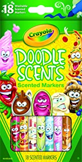 Crayola 18 Doodle Scents™ Washable Scented Markers