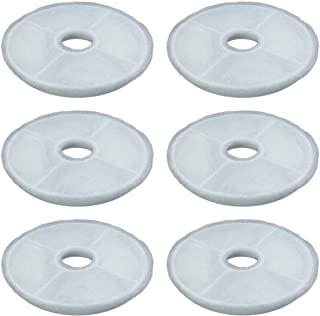 PET STANDARD Filters for Catit Design Senses Fountains and Catit Flower Fountains, Pack of 6