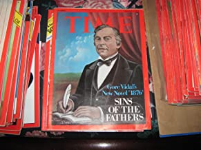 Time Magazine March 1 1976 Gore Vidal's New Novel '1876' Sins of the Fathers