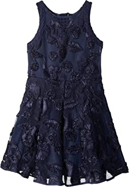 Nanette Lepore Kids Soutache Mesh Dress (Little Kids/Big Kids)