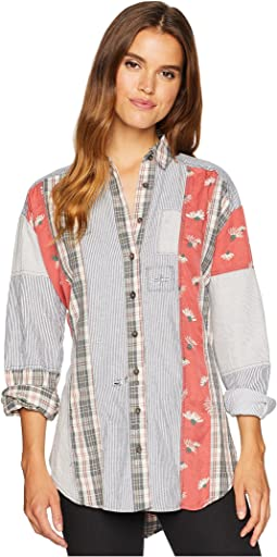 All Patched Up Classic Button Down