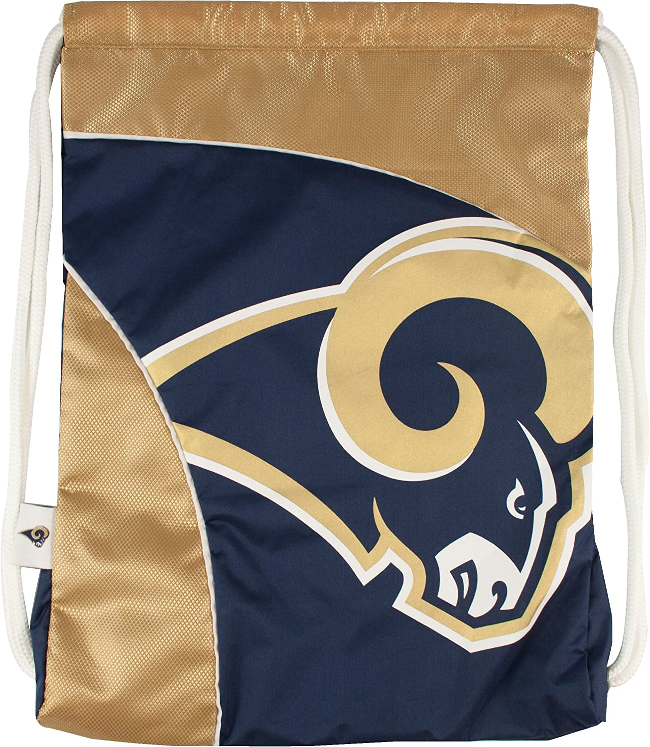 NEW before selling Littlearth NFL St. 35% OFF Louis Rams Backpack One-Size Cinch Te Curve