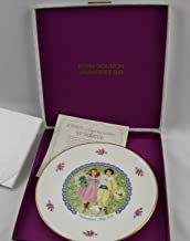 Royal Doulton Collector's Plate Valentine's Day 1976