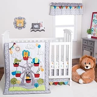 giraffe print baby boy bedding