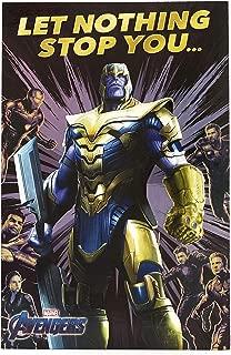 Avengers Birthday Card - Ideal Gift Card for Him - Avengers Endgame - Avengers Featuring Thanos, Iron Man, Thor, Hulk, Black Widow, Captain America - Marvel