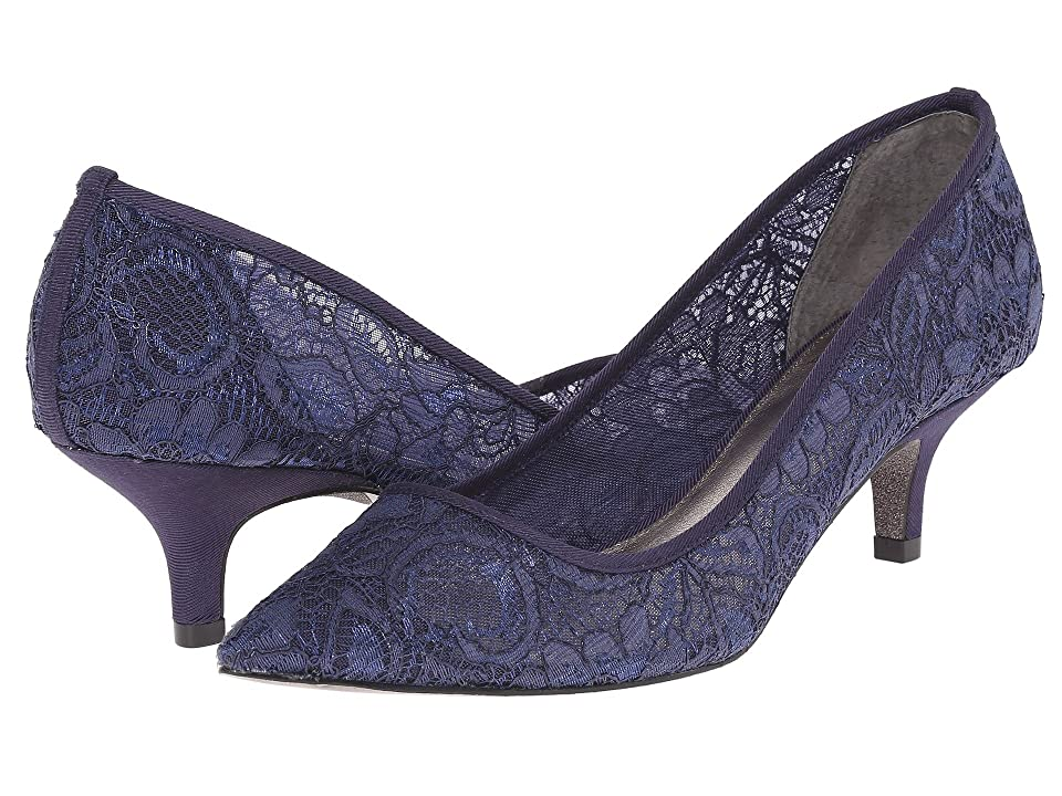 Adrianna Papell Lois Lace (Navy 1890 Lace) Women