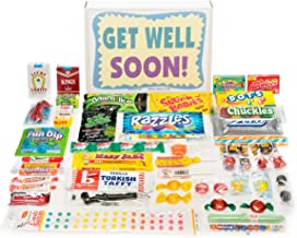 Woodstock Candy ~ Get Well Soon Gift Box Nostalgic Retro Candy ~ Feel Better Care Package Wishes for Friends and Family