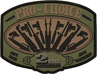 Pro Choice - 2nd Amendment - PVC Morale Patch
