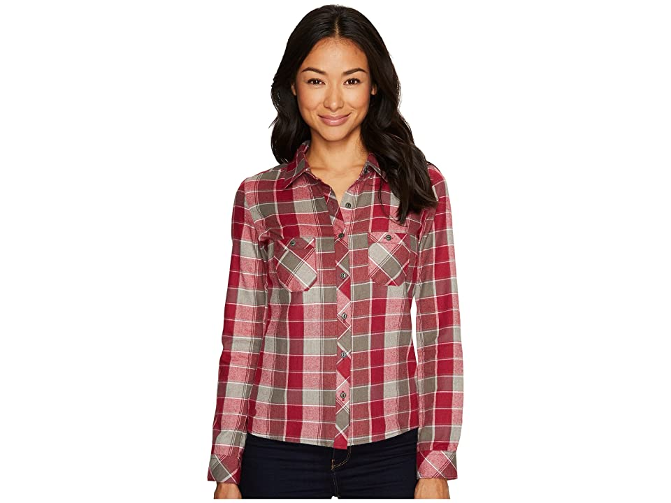 Outdoor Research Ceres Long Sleeve Shirt (Raspberry/Pewter) Women