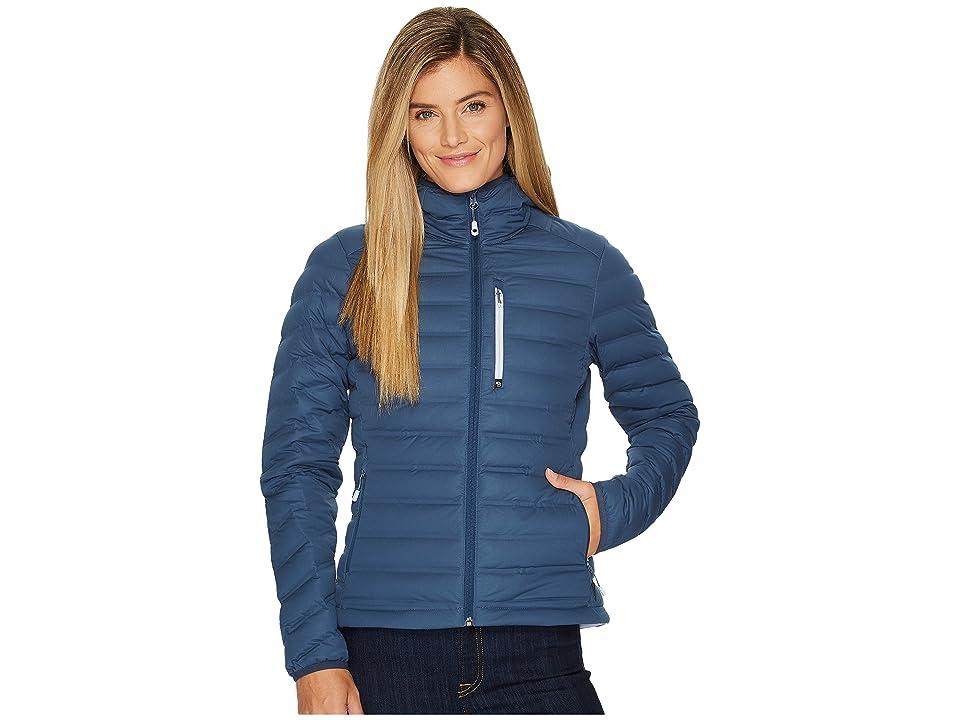 Mountain Hardwear StretchDown Hooded Jacket (Zinc) Women