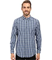 Nautica - Long Sleeve Medium Plaid Poplin