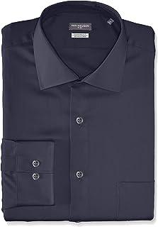 Van Heusen Men's Flex Regular Fit Solid Spread Collar...