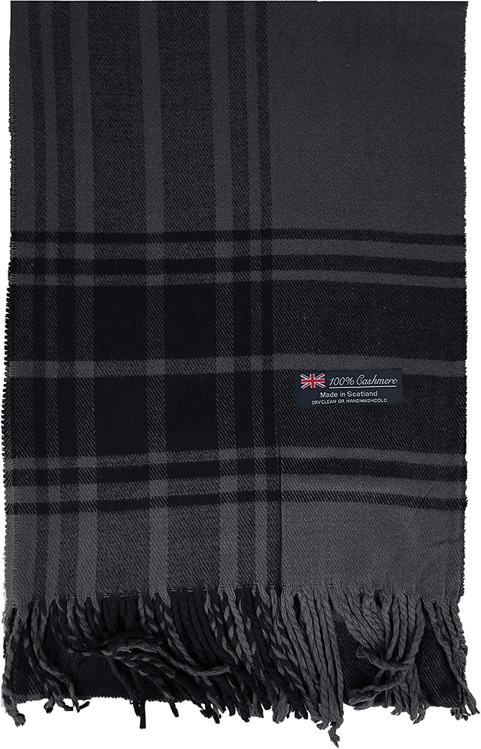 2 PLY Very popular 100% Cashmere Scarf Elegant Made Wo Ranking TOP19 Scotland Collection in