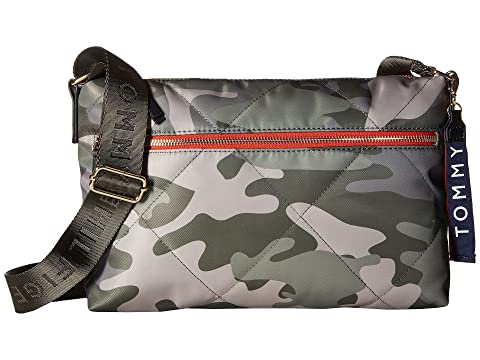 Tommy Hilfiger Kensington Camo Nylon Crossbody Green Outlet Genuine Free Shipping New Arrival Low Shipping Fee Sale Online Discount Wholesale GkO36Vtf