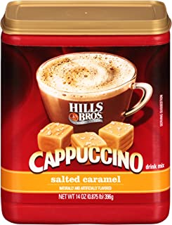 Hills Bros. Instant Cappuccino Mix, Salted Caramel Cappuccino Mix – Easy to Use and..