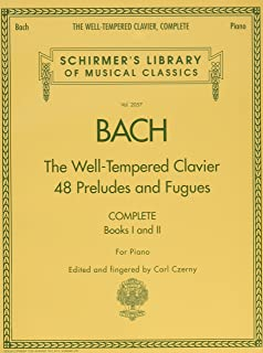 J.S. Bach: the Well-Tempered Clavier - Complete Piano (Schirmer's Library of Musical Classics) - 9780634099212