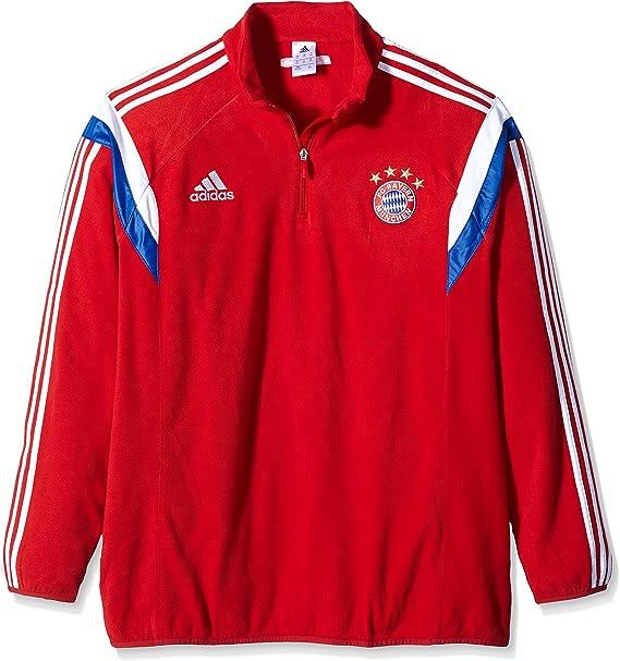 adidas - Felpa da allenamento in pile, del Bayern Monaco, da uomo ...