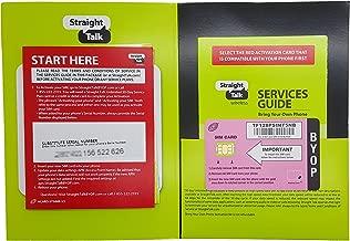 Straight Talk Nano SIM Card For T-Mobile Network & Unlocked GSM Phone